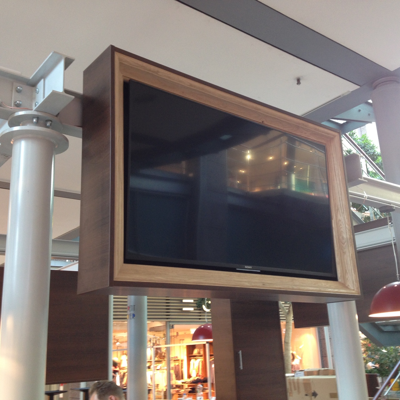 TV/Audio/Videoinstallation im Forum Köpenick